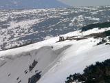 Lekkomyślni turyści na śniegu