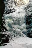 Zamarznięty Wodospad Kamieńczyka
