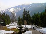 Droga z Pecu na Śnieżkę i mostek 2