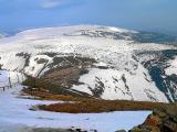 Krystaliczny zimowy poranek na Równi pod Śnieżką