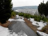 Droga na Przełęcz Okraj